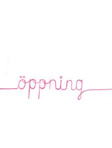 öppning